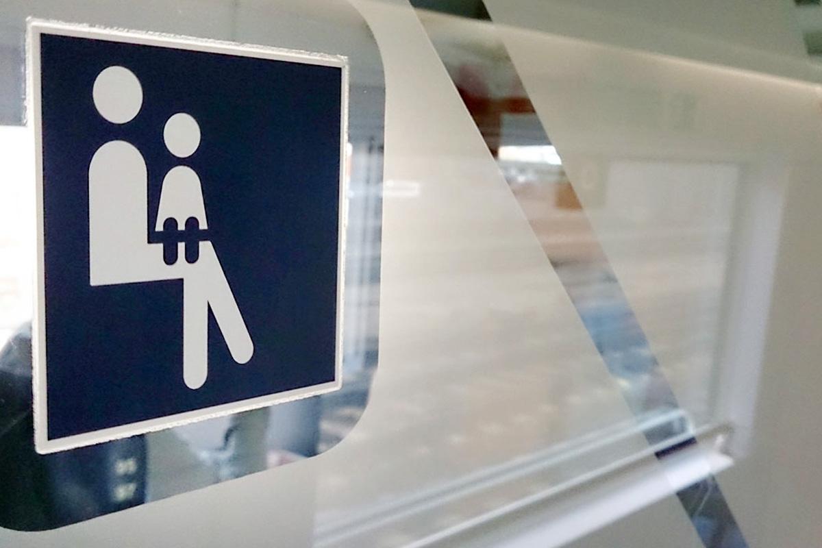 Ein feiner Zug: Das Kleinkindabteil im ICE der Deutschen Bahn. (Foto: Julia Marre)