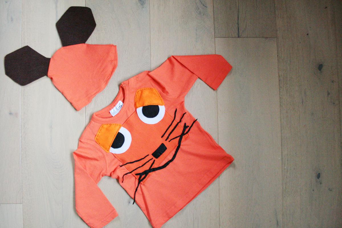 Hier kommt die Maus: das Kostüm von vorne. Foto: Julia Marre