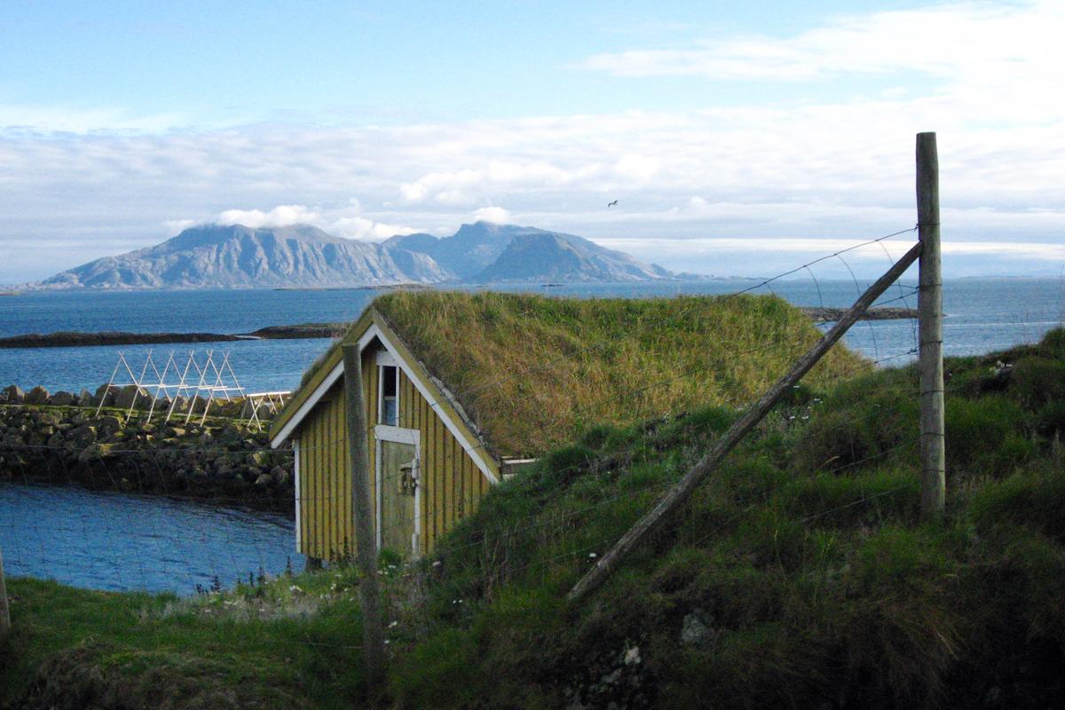 Archipel Vega in Norwegen: Norwegen wie aus dem Bilderbuch: zu Besuch auf dem Archipel Vega nahe des Polarkreises. Foto: Julia Marre