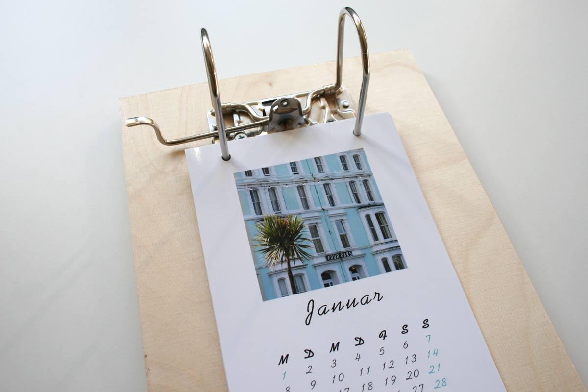 Ein origineller Kalender